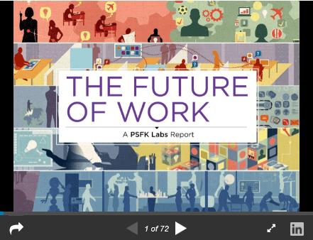 Le futur monde du travail