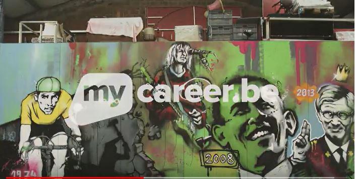 Uw loopbaan: officieel via Mycareer.be